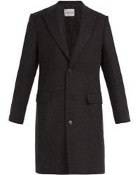 SALLE PRIVÉE - Gilles Single Breasted Wool Blend Coat - Lyst
