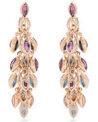 Marie Mas - Reversible Multi-stone & Pink-gold Earrings - Lyst