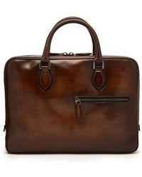 Berluti - Venezia-leather Briefcase - Lyst