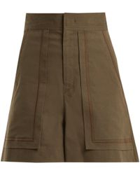 bc4165aa2e Isabel Marant - Lucky A-line High-waist Shorts - Lyst