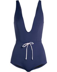 Solid & Striped - The Edie Drawstring Waist Swimsuit - Lyst