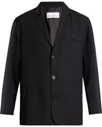 Raey - Soft-tailored Pinstriped Blazer - Lyst
