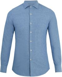 Glanshirt | Long-sleeved Slim-fit Cotton Shirt | Lyst
