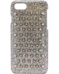 Christian Louboutin - Loubiphone Iphone 7/8 Case - Metallic - Lyst