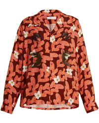 Toga - Floral Abstract Print Shirt - Lyst
