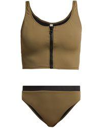 Solid & Striped - The Christie Bi Colour Bikini Briefs - Lyst