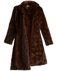 Vetements - Double-layered Reworked Mink-fur Coat - Lyst