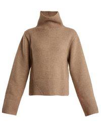 Khaite - Wallis High-neck Cashmere Sweater - Lyst