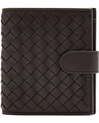 Bottega Veneta - Intrecciato Card Holder And Zip-around Wallet - Lyst