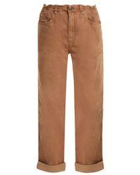Brunello Cucinelli - Boyfriend-fit Cotton-blend Jeans - Lyst