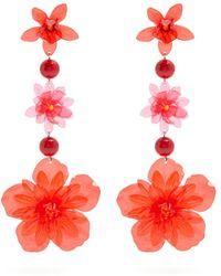 Isabel Marant | Aloha Flower And Bead-embellished Earrings | Lyst