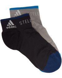adidas By Stella McCartney - Pack Of Two Logo Jacquard Socks - Lyst