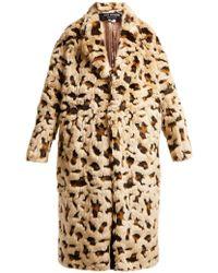 Junya Watanabe - Leopard-print Faux-fur Coat - Lyst