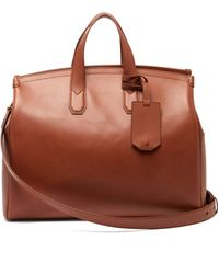 Dunhill - Duke Leather Holdall - Lyst