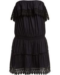 Melissa Odabash - Joy Strapless Mini Dress - Lyst
