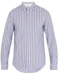Acne Studios - Isherwood Striped Cotton Shirt - Lyst