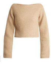 Khaite - Lila Step-hem Ribbed-knit Sweater - Lyst