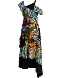 Mary Katrantzou - Carmen Sequin Embellished Silk Chiffon Dress - Lyst