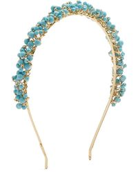Rosantica By Michela Panero - Bouquet Bead Embellished Headband - Lyst