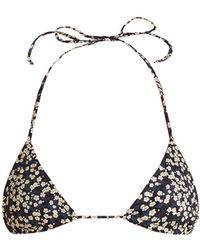 Matteau - The String Triangle Bikini Top - Lyst