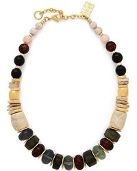 Lizzie Fortunato - Landmark Gold Tone Necklace - Lyst