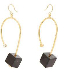 Marni - Cube Drop Earrings - Lyst
