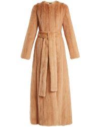 Brock Collection - Freda Mink-fur Coat - Lyst