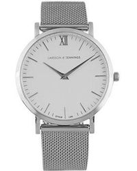 Larsson & Jennings - Lugano Stainless Steel Watch - Lyst