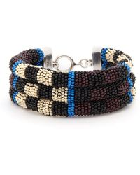 Isabel Marant - Bead-embellished Bracelet - Lyst