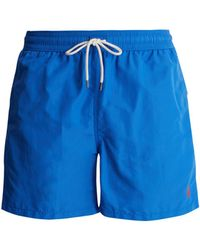 Polo Ralph Lauren | Logo-embroidered Swim Shorts | Lyst