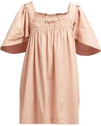 Three Graces London - Emmeline Cotton Dress - Lyst