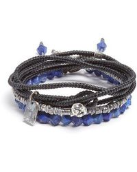 M. Cohen - Set Of Three Lapis And Silver Bracelets - Lyst