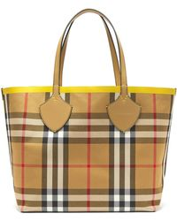 Burberry - The Giant Reversible Cotton Tote - Lyst