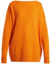 Tomas Maier - Ribbed Cashmere Sweater - Lyst