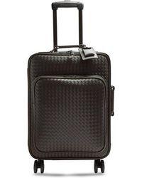 Bottega Veneta - Intrecciato Leather Cabin Suitcase - Lyst