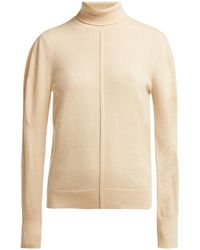 Chloé - Iconic Roll Neck Cashmere Sweater - Lyst