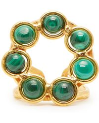 Sylvia Toledano - Malachite Stone Ring - Lyst
