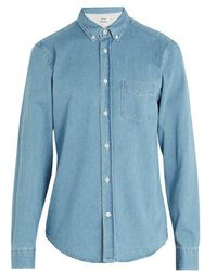 Acne Studios - Isherwood Den Cotton-denim Shirt - Lyst