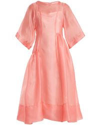 Molly Goddard - Laurelai Silk-organza Dress - Lyst