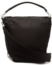 Paco Rabanne - Hobo Medium Nylon Cross-body Bag - Lyst