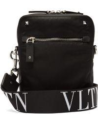 Valentino - Vltn Logo Strap Cross Body Bag - Lyst