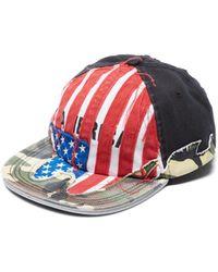 Vetements - Cut Up America Baseball Cap - Lyst