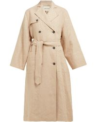 Mara Hoffman - Roberta Double Breasted Linen Trench Coat - Lyst