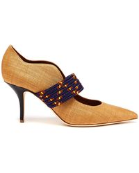 Malone Souliers - Mannie Woven Court Shoes - Lyst