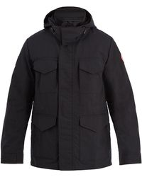 Canada Goose - Voyager Shell Hooded Jacket - Lyst