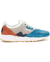 Karhu - Aria Panelled Suede Trainers - Lyst