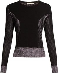 Marco De Vincenzo - Long-sleeved Ribbed-knit Sweater - Lyst