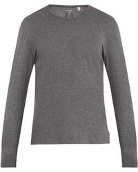 Paul Smith - Crew-neck Cotton-jersey Pyjama Top - Lyst