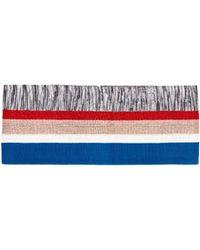 Missoni Metallic Stripe Lurex Belt - Multicolour