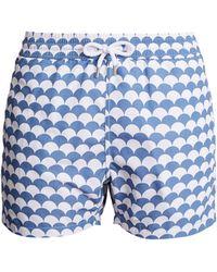 Frescobol Carioca - Sports Noronha-print Swim Shorts - Lyst